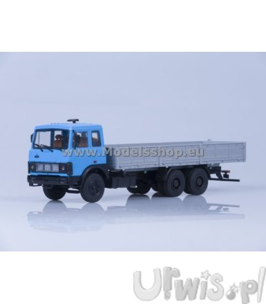 MAZ-6303 Flatbed (blue/grey)