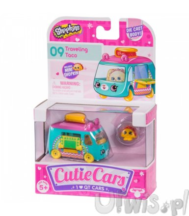 Shopkins Cutie Cars S2 1-pak MIX