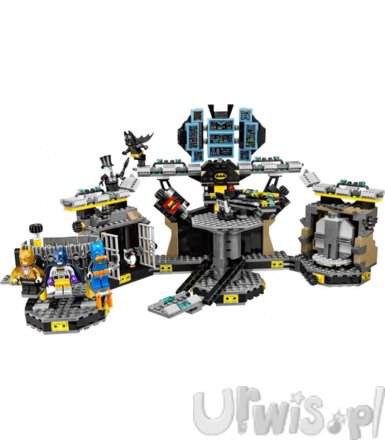 LEGO The Batman Movie Włamanie do jaskini Batmana GXP-638371