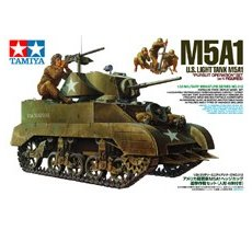 "U.S. Light Tank M5A1 ""Pursuit Operation"" Set (w/4 Figures)"
