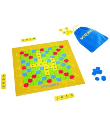 MATTEL Gra Scrabble Junior