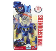 TRANSFORMERS Robots In Disguise Warrior Soundwave