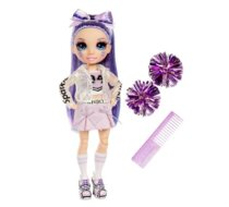 Lalka RAINBOW High Cheer Doll, Wiolet Willow