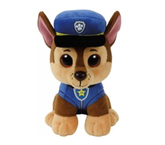 TY Beanie Babies Psi Patrol Chase, 15 cm