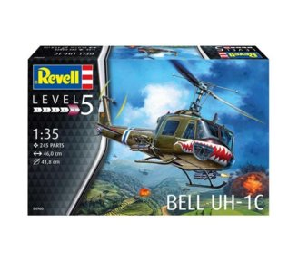 Model plastikowy Bell UH-1C