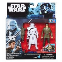 Hasbro SW Snowtrooper Officer and Poe Dameron