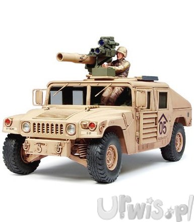 M1046 Humvee TOW Missile Carrier