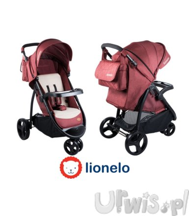 Lionelo Wózek spacerowy Liv red