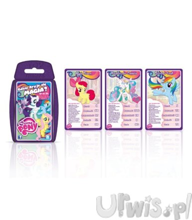 TOP TRUMPS Gra karciana MLP