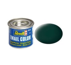 REVELL Email Color 40 Bl ack-Green Mat