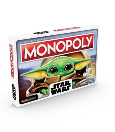 Monopoly Gra planszowa Star Wars The Child
