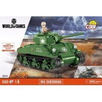 Klocki Armia World Of Tanks Sherman A1 / Firefly