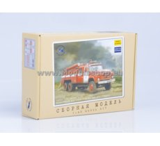 Fire Truck AC-40 (ZIL-133GJa) (model kit)