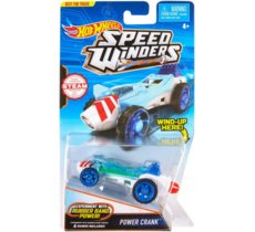 Hot Wheels Autonakręciak i samochodziki, Power Crank