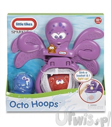 LITTLE TIKES Ośmiorniczk a do zabaww wannie