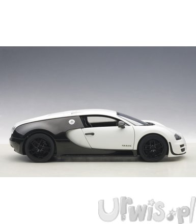 Bugatti Veyron Super Sport Pur Blanc Edition 2012 (matt white/black carbon)