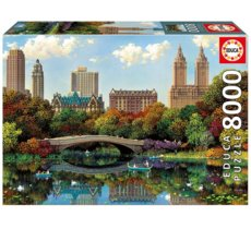 Puzzle 8000 elementów Central Parl Bow Bridge
