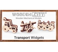Puzzle 3D Widgets Transport