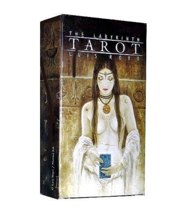 Karty The Labyrinth Tarot Luis Royo