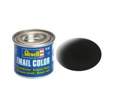 REVELL Email Color 08 Black Mat 14ml.