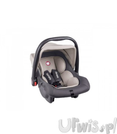 Fotelik 0-13 kg Noa Plus grey