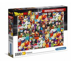 Puzzle 1000 elementów Impossible Puzzle - Dragon Ball