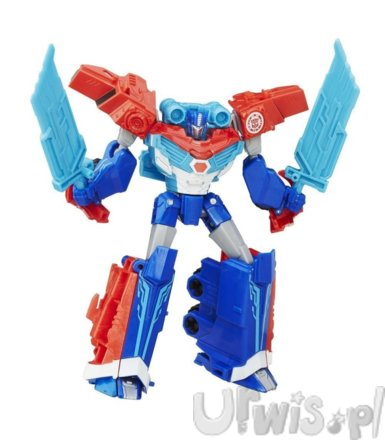 TRA RID Warriors Power Suge Optimus Prime