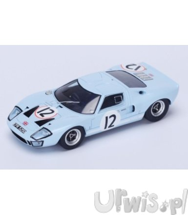Ford Usa GT40 #12 24h Le Mans 1966