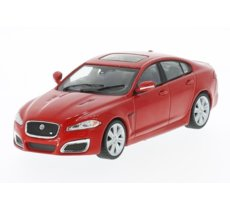Jaguar XFR RHD 2010 (red)