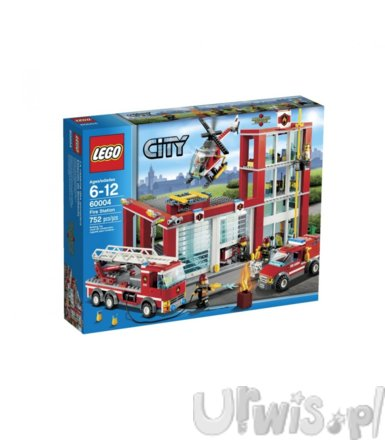 Lego CITY Remiza strażacka 60004
