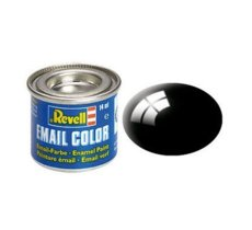 REVELL Email Color 07 Black Gloss 14ml