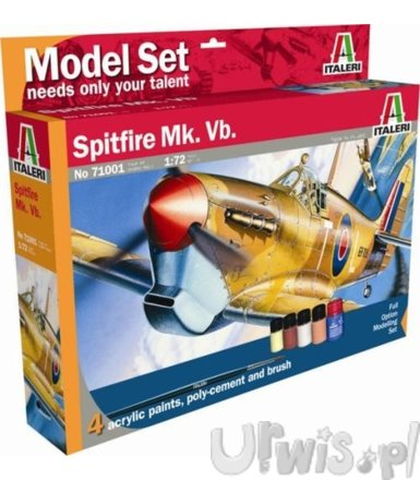 ITALERI Model set 'home play' Spitfire