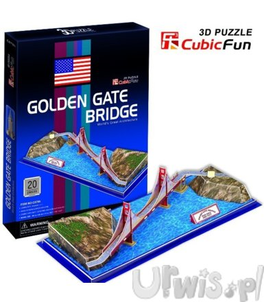 PUZZLE 3D Golden Gate Bridge