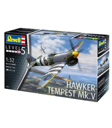 Model do sklejania Hawker Tempest Mk.V