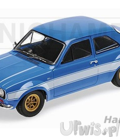 Ford Escort I RS1600 FAV 1970 (blue w/whites stripes)