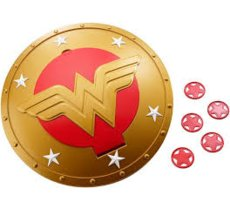 Mattel DC SUPER HEROS Tarcza Wonder Woman
