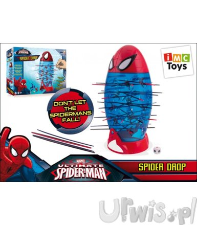 SPIDER DROP SPIDERMAN