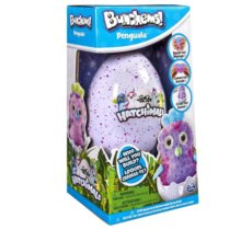 BUNCHEMS Rzepy Hatchimals Pingwiniak