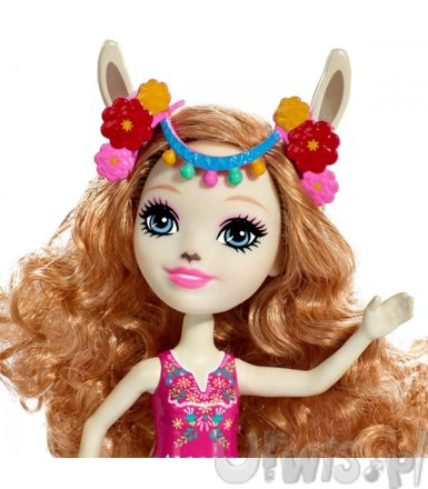 Lalka Enchantimals Lluella Llama   Fleecy