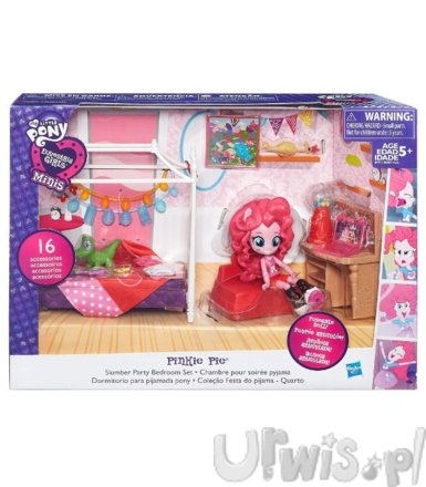 HASBRO MLP EG Mini piżam owe party PinkiePie