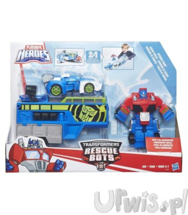Hasbro TRA Rescue Bot Optimus Prime