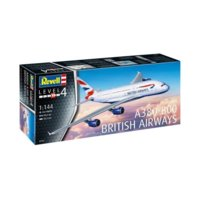 Model plastikowy A-380-800 British Airways