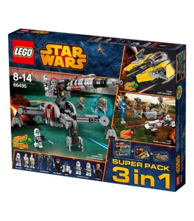 LEGO SW Superpack 3 w 1 L-66495