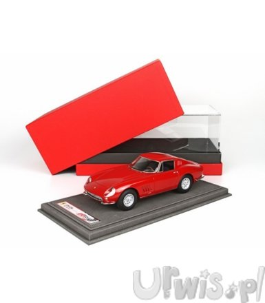 Ferrari 275 GTB Short Nose 1964 (red) with display case