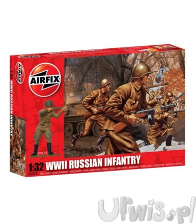 AIRFIX WWII Russian Infantry
