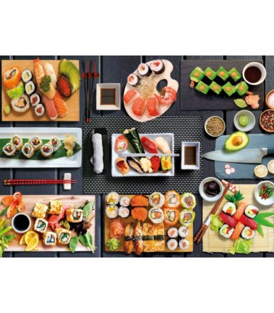 Puzzle 500 elementów High Quality Collection - Sushi