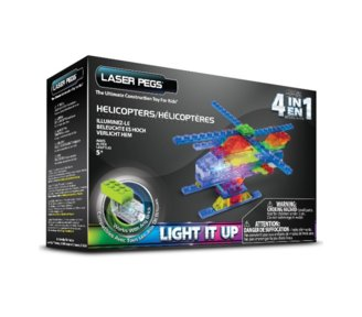 LASER PEGS 4 in 1 Helicopter