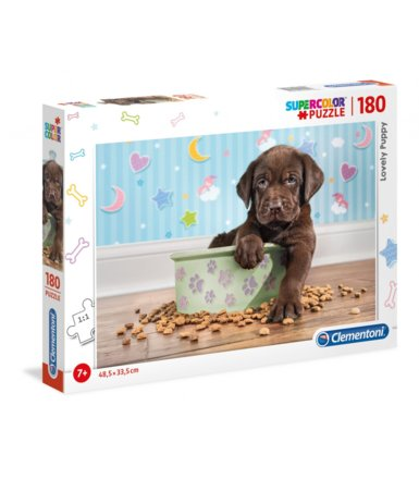 Puzzle 180 elementów Lovely Puppy