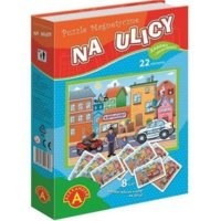 Puzzle magnetyczne Na ulicy
