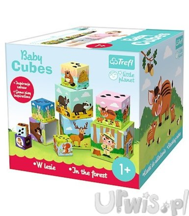 Baby cubes - W lesie - Little Planet